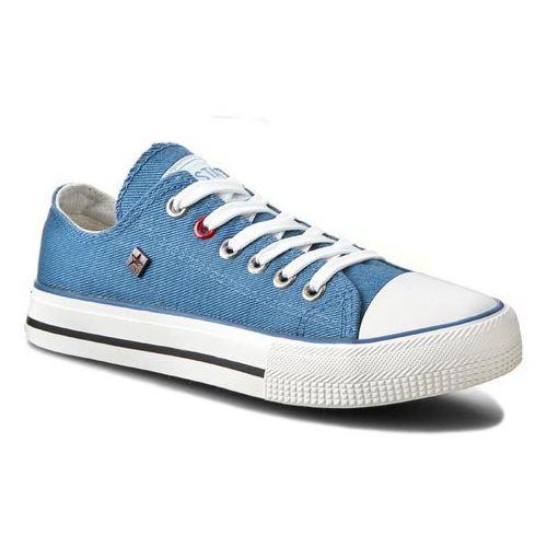 Obuwie sportowe dla kobiet, Trampki BIG STAR - T274030 Blue
