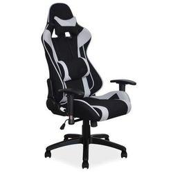 Fotel Signal Viper gamingowy - szary/czarny - ZŁAP RABAT: KOD40