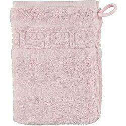 Rękawica kąpielowa noblesse 16 x 22 cm różowa