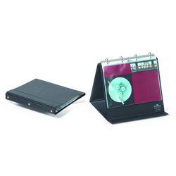 Flipchart stołowy A4 poziomy z mech. ringowym 10 kieszeni, Durable