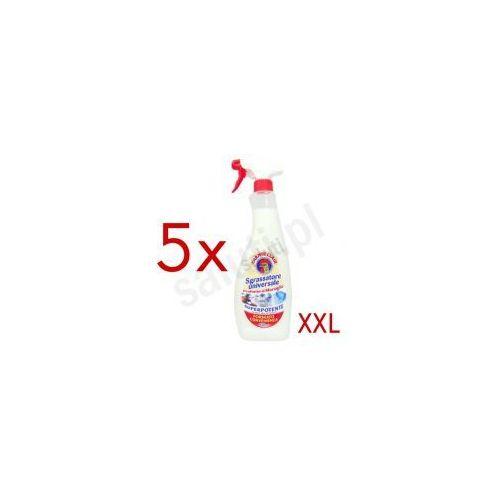 Rozcieńczalniki i rozpuszczalniki, Chante Clair Sgrassatore Universale Marsiglia - włoski odtłuszczacz (5 x 850 ml)