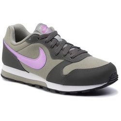 Buty NIKE - Md Runner 2 (GS) 807319 015 Dark Stucco/Fuchsia Glow