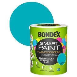 Farba hybrydowa Bondex Smart Paint turkusowy zawrót głowy 5 l
