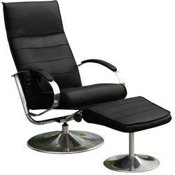 Fotel relaksujący z podnóżkiem Chrodis