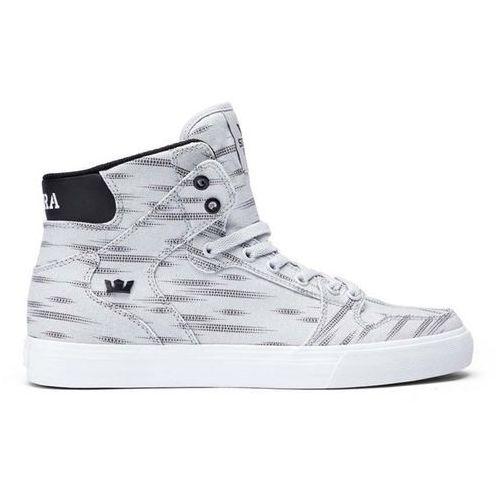 Obuwie sportowe dla mężczyzn, buty SUPRA - Vaider D Light Grey Print/Black-Wht (LGP)