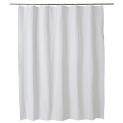 Zasłonka prysznicowa Palmi 180 x 200 cm biała