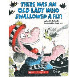 There was an Lady who swallowed a fly (Board book) (opr. twarda)