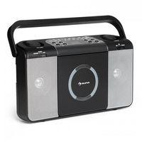 Pozostałe przybory do pisania, Boomtown USB odtwarzacz CD radio UKF MP3 radioodtwarzacz czarny