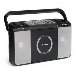 Boomtown USB odtwarzacz CD radio UKF MP3 radioodtwarzacz czarny