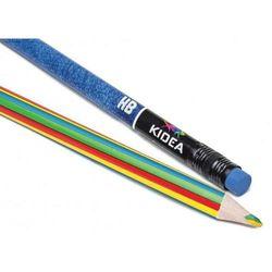 Kredki trójkątne JUMBO 14 kolorów + ołówek + magiczna kredka