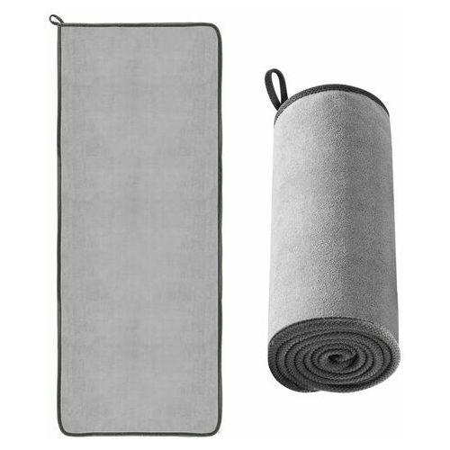 Pozostałe akcesoria do samochodu, Baseus ręcznik z mikrofibry do osuszania samochodu mikrofibra 60 cm x 180 cm szary (CRXCMJ-B0G) - Szary