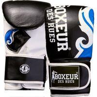 Rękawice do walki, Rękawice bokserskie BOXEUR BXT-5139 (rozmiar S) Czarno-niebieski