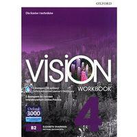 Książki do nauki języka, Vision 4 WB + online practice - Praca zbiorowa (opr. broszurowa)