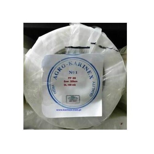 Folie i agrowłókniny, Agrowłóknina wiosenna PP 20 g/m2 biała 3,2 x 100 mb. Rolka o szer. 320 cm