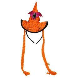 Dekoracja SWEDE Halloween Kapelusz z Warkoczykami
