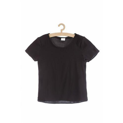Bluzki, Granatowa bluzka damska 8I38IH Oferta ważna tylko do 2031-10-04