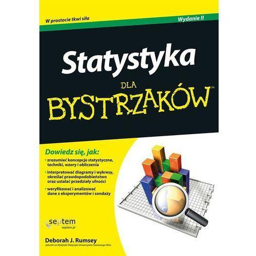 Książki medyczne, Statystyka dla bystrzaków (opr. miękka)
