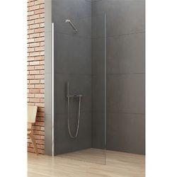 Ścianka prysznicowa 80 cm K-0458-WP New Soleo New Trendy DODATKOWY RABAT W SKLEPIE NA KABINĘ