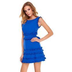 Sukienka Kalmia w kolorze szafirowym