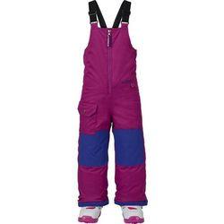 spodnie chłopięce BURTON - Ms Maven Bib Pt Grapeseed (505) rozmiar: 5\6