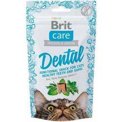 Brit care cat snack dental zdrowe zęby 50 g - darmowa dostawa od 95 zł!