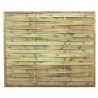 Przęsła i elementy ogrodzenia, Płot lamelowy Khoper 180 x 150 cm