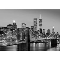Fototapety, Fototapeta Manhattan Skyline at Night 138