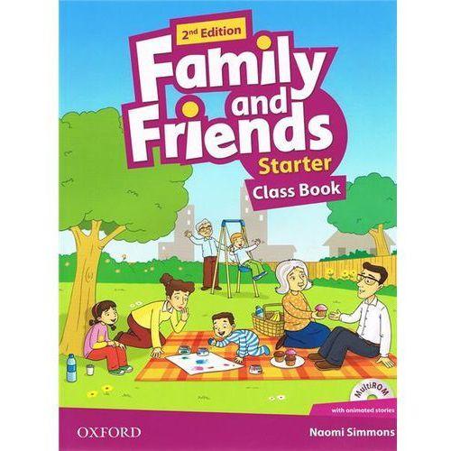 Książki do nauki języka, Family and Friends (2nd Edition) Starter Course Book with MultiROM Pack