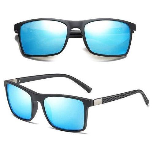 Okulary przeciwsłoneczne, Okulary polaryzacyjne męskie przeciwsłoneczne blue
