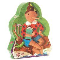Puzzle, Djeco, Pinokio, DJ07251, puzzle w pudełku - postaci