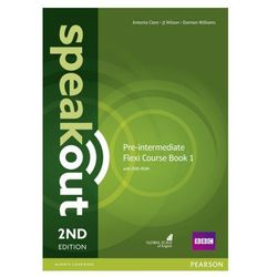 Speakout 2Ed Pre-Intermediate. Flexi Course Book 1 (opr. miękka)