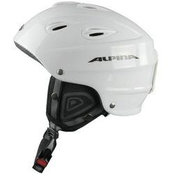 ALPINA JUNTA WHITE - kask narciarski R. 57-61 cm