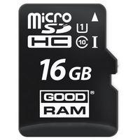 Karty pamięci, GOODRAM microSD 16GB CL10 UHS I + adapter DARMOWA DOSTAWA DO 400 SALONÓW !!