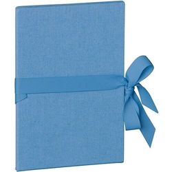 Album na zdjęcia Uni Leporello pionowy niebiański błękit