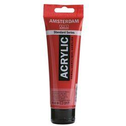 Farba akryl AMSTERDAM 120ml. - transp.red md. 317