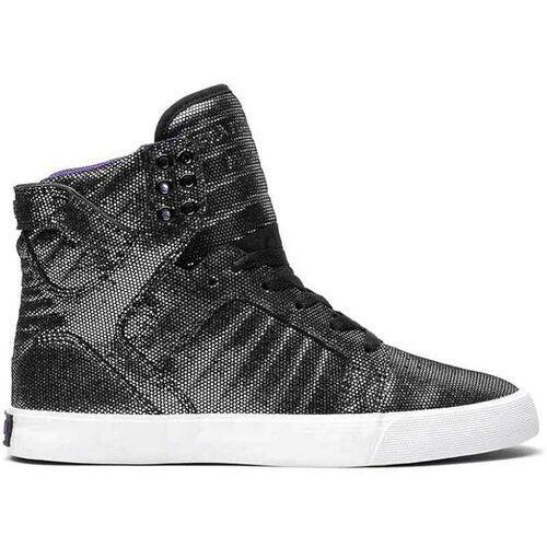 Damskie obuwie sportowe, buty SUPRA - High Skytop Black/White-White (BKW) rozmiar: 36.5