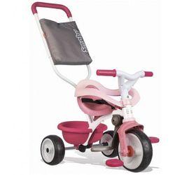 Rowerek trójkołowy Be Move Komfort różowy (7600740415). od 10 miesięcy