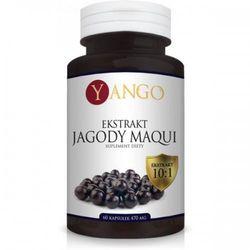 Jagody Maqui - Ekstrakt - 60 kapsułek YANGO