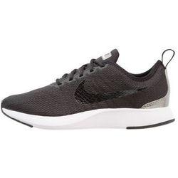 Nike Sportswear DUALTONE RACER (GS) Tenisówki i Trampki black/metallic pewter