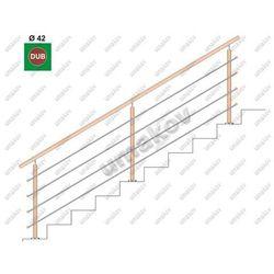 Drewno DUB (OAK) VK-schodisko, v=90 cm, L=300cm