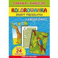 Kolorowanki, Kolorowanka Zeszyt pięciolatka Łamigłówki - Beata Guzowska, Bindek Marta