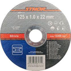 Tarcza do cięcia metalu 125 x 1 x 22 mm Sthor 08171 - ZYSKAJ RABAT 30 ZŁ