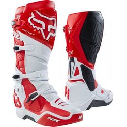 FOX INSTINCT 2.0 WHITE/RED Buty OFF-ROAD