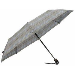 Knirps T200 Duomatic Parasolka składana 28 cm check grey ZAPISZ SIĘ DO NASZEGO NEWSLETTERA, A OTRZYMASZ VOUCHER Z 15% ZNIŻKĄ