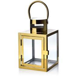 LEONE GOLD LATARNIA 12x12x19 cm
