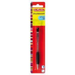 Ołówek automatyczny z gumką szkolny 0,7mm HERLITZ - 0,7mm