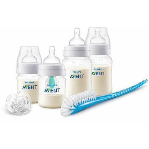 Butelki do karmienia, Philips Avent Zestaw butelek antykolkowych z nakładką AirFree™