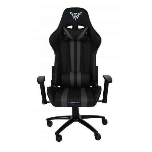 Fotele dla graczy, Fotel Gamingowy G-Racer Optimum Dla Gracza niebieski