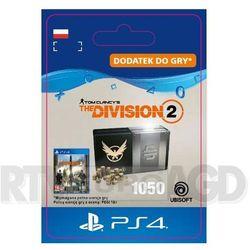 Tom Clancy's The Division 2 - Pakiet 1050 Kredytów [kod aktywacyjny] PS4