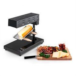 Klarstein Appenzell 2G tradycyjny zestaw grill raclette 600 W stojący czarny